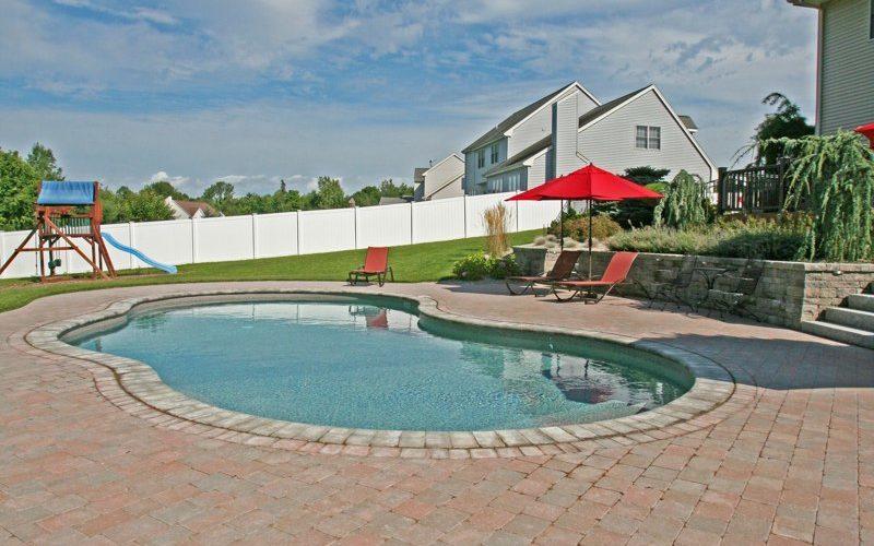 40B Mountain Pond Inground Pool - Rocky Hill, CT