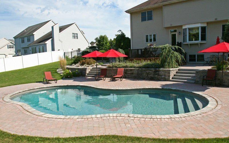 40C Mountain Pond Inground Pool - Rocky Hill, CT