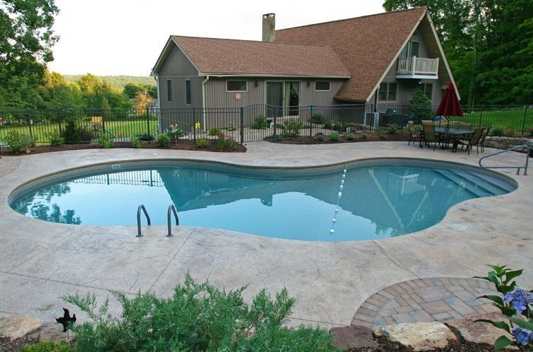 41B Mountain Pond Inground Pool - Suffield, CT
