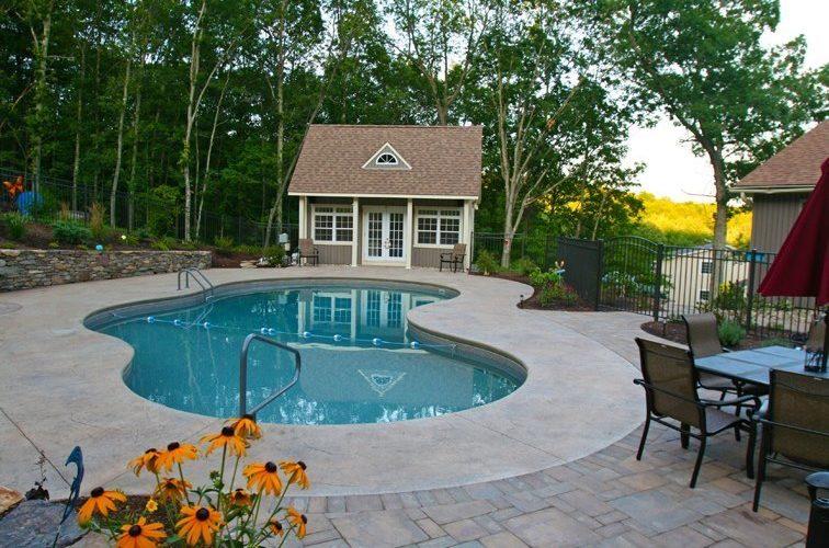 41C Mountain Pond Inground Pool - Suffield, CT