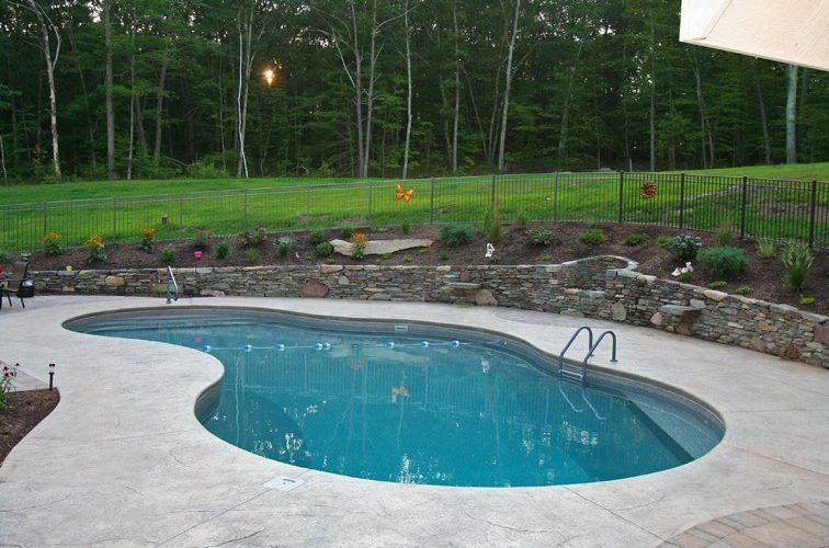 41D Mountain Pond Inground Pool - Suffield, CT