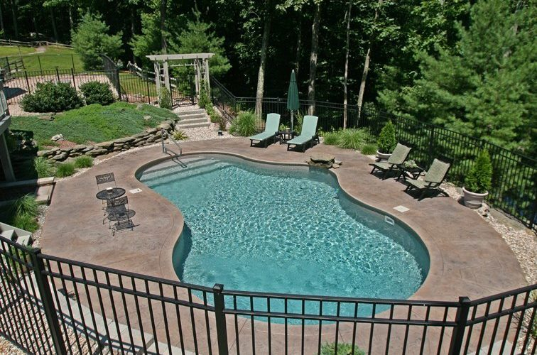 42A Mountain Pond Inground Pool - Tolland, CT