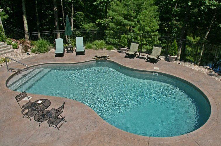 42B Mountain Pond Inground Pool - Tolland, CT