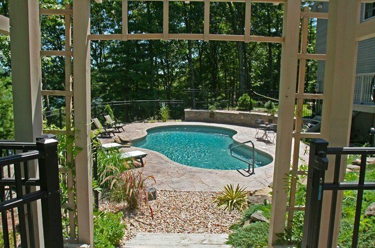 42C Mountain Pond Inground Pool - Tolland, CT