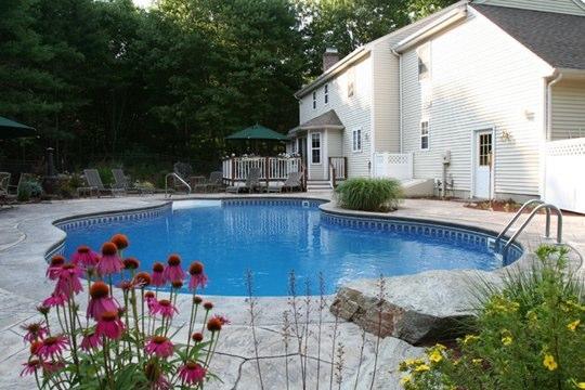 43B Mountain Pond Inground Pool - Tolland, CT