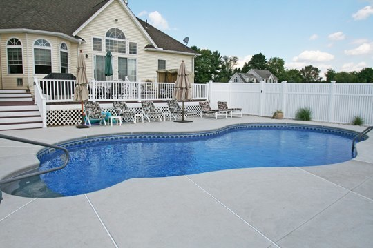 44B Mountain Pond Inground Pool - Ellington, CT