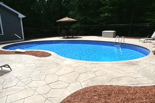 4C Kidney Inground Pool - Tolland, CT