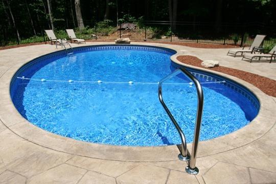 4D Kidney Inground Pool - Tolland, CT