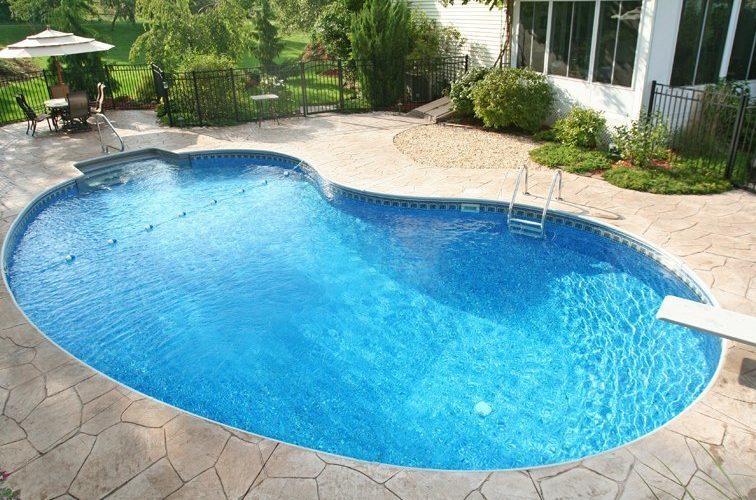 5A Kidney Inground Pool - Broad Brook, CT