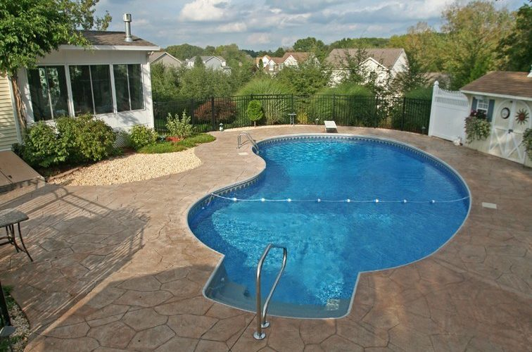 5B Kidney Inground Pool - Broad Brook, CT