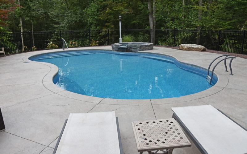 6B Mountian Pond Inground Pool - Farmington, CT
