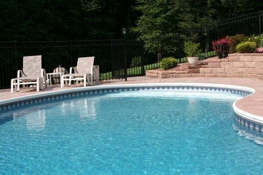 6C Kidney Inground Pool -Somers, CT
