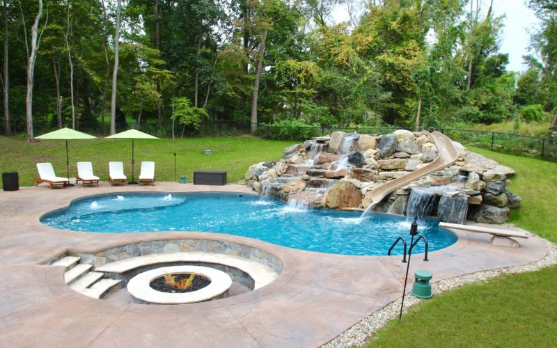 7A Custom Inground Pool - Tolland, CT