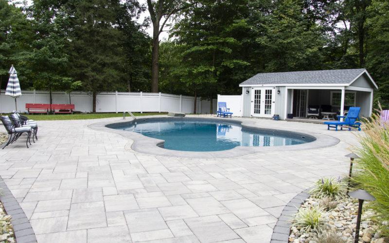 7C Mountain Pond Inground Pool - West Hartford, CT