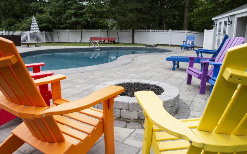 7D Mountain Pond Inground Pool - West Hartford, CT
