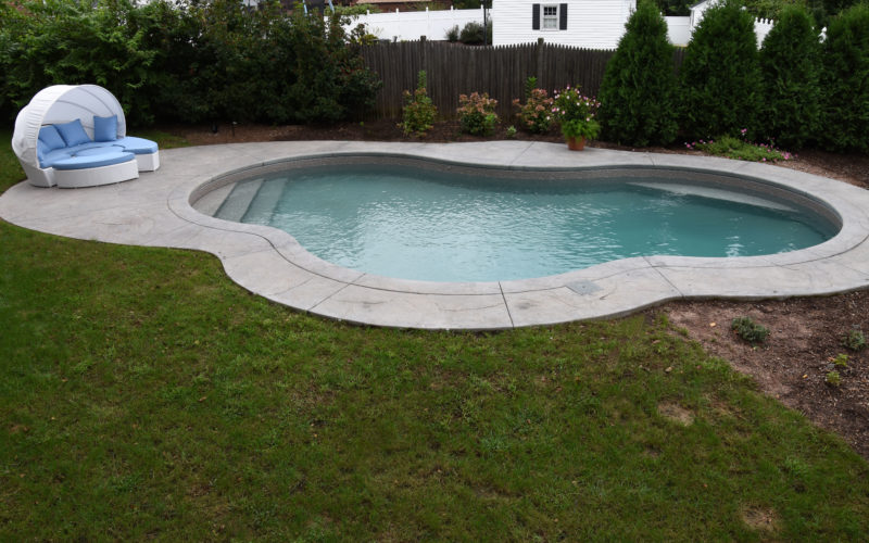 8B Mountain Pond Inground Pool - West Hartford, CT