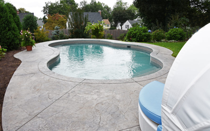 8C Mountain Pond Inground Pool - West Hartford, CT