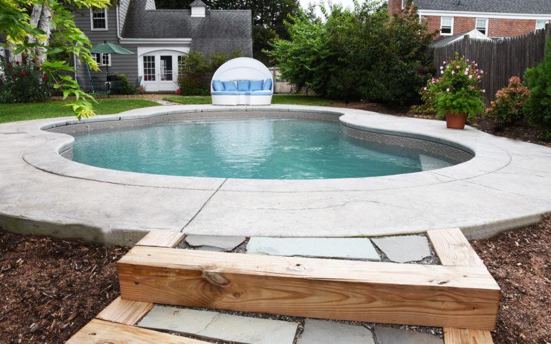 8D Mountain Pond Inground Pool - West Hartford, CT