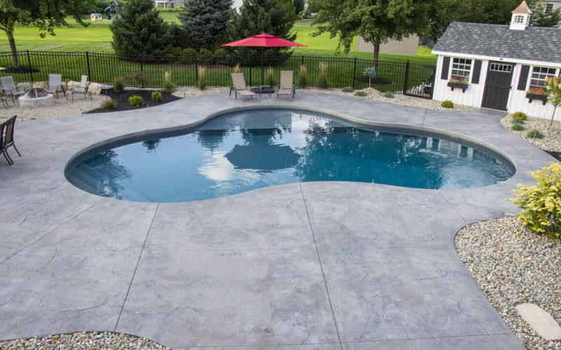 9A Mountain Pond Inground Pool - Ellington, CT