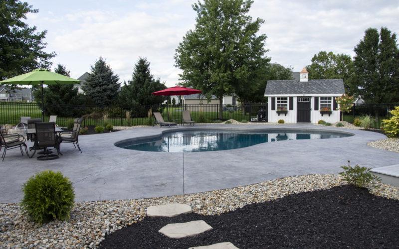 9C Mountain Pond Inground Pool - Ellington, CT